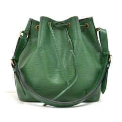 Louis Vuitton Petit Noe Green Epi Leather Shoulder Bag LT619