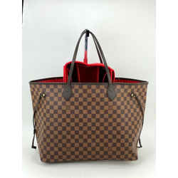 Louis Vuitton Neverfull Gm Tote Damier Ebene With Organizer A532