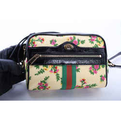 Gucci Limited Edition Mini Ophidia Floral Crossbody