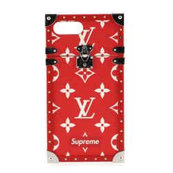 Eye Trunk Phone Case Limited Edition Supreme Monogram Canvas iPhone 7 Plus