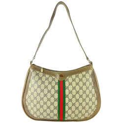 Gucci Supreme GG Web Hobo Shoulder Bag 18GG1022