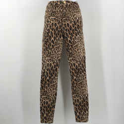 Frame Brown Leopard High Rise Jeans Size 24