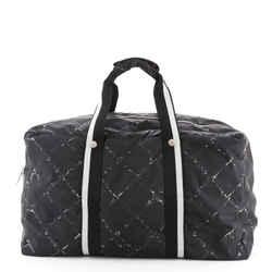 Travel Line Boston Bag Printed Nylon Medium
