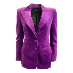 Tom Ford Purple Amethyst Single Breasted Blazer