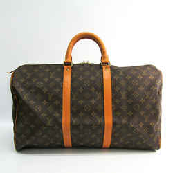 Louis Vuitton Monogram Keepall 50 M41426 Women's Boston Bag Monogram Bf508967
