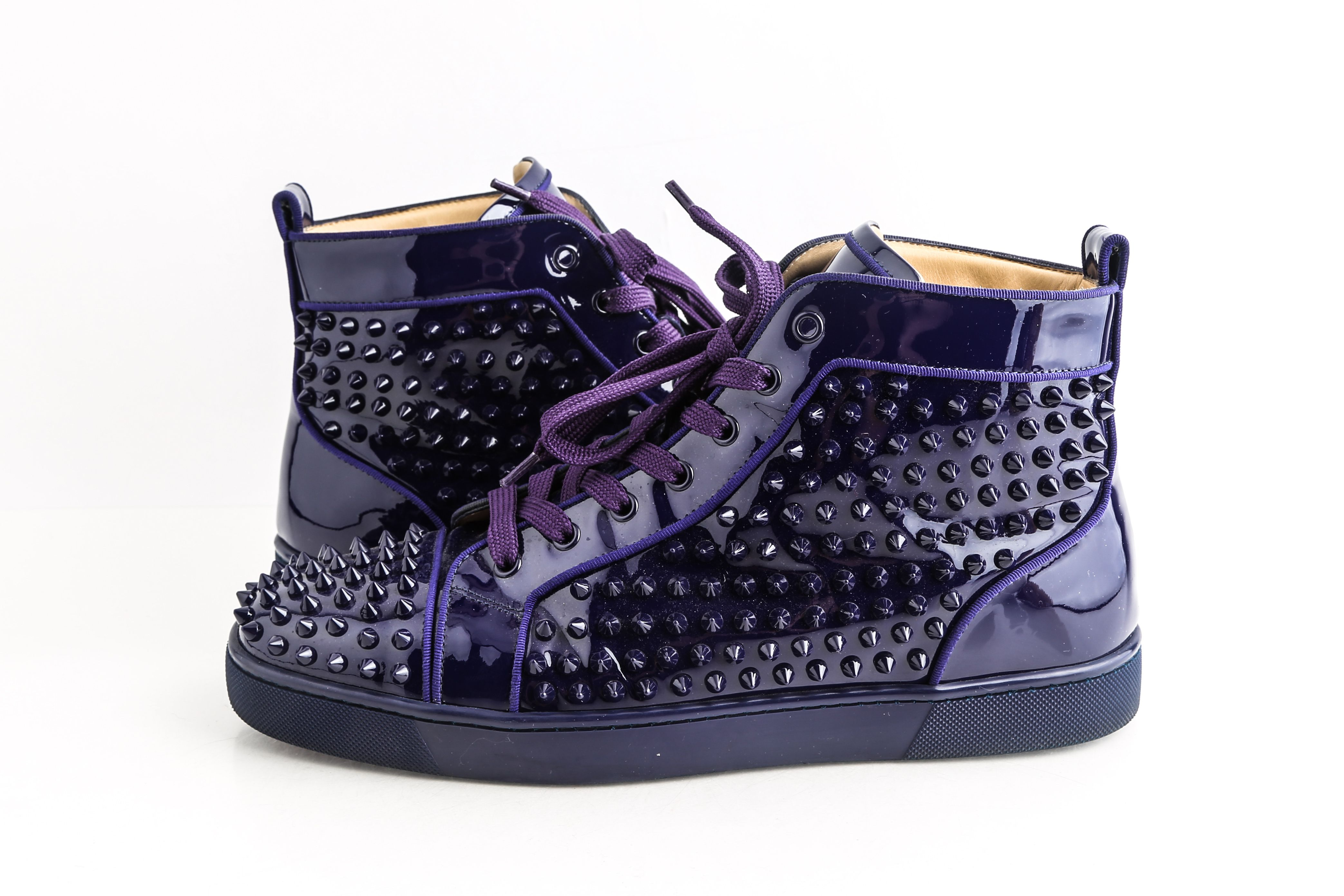 Christian Louboutin Purple Louis Flat