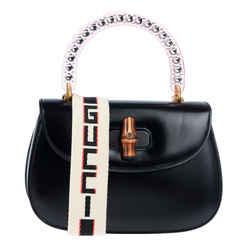 New Gucci Classic 2 Crystal Plexiglass Bag