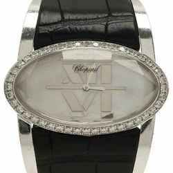 Chopard White Stainless Steel Women's Wristwatch 36MM