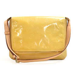 Vintage Louis Vuitton Thompson Street Yellow Vernis Leather Shoulder Bag LU407