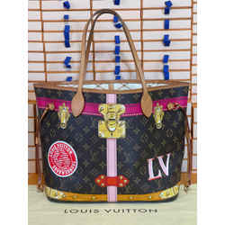 Louis Vuitton Rare Summer Trunks and Bags Neverful Mm Tote Bag Rare 12.6L x 6.7W x 11.4H