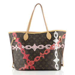 Neverfull NM Tote Limited Edition Monogram Canvas MM