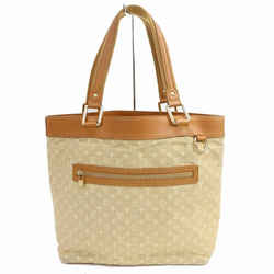 Louis Vuitton Monogram Mini Lin Beige Lucille GM Tote 859019