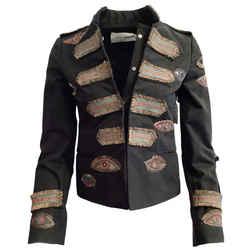 Valentino Black Evil Eye Jacket