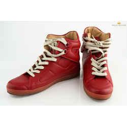 "Maison Margiela Men 80's ""Blood Boots"" High Top Sneakers"