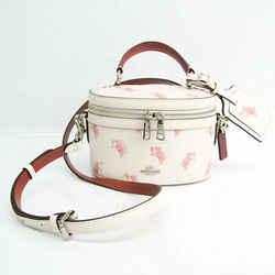 Coach 38601 Women's Leather Handbag,Shoulder Bag Multi-color,Off-white, BF526109