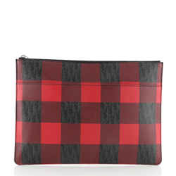 Homme Zip Pouch Printed Coated Canvas  Small