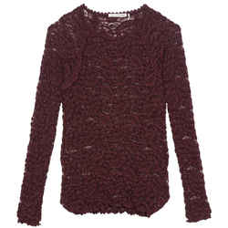 toile Isabel Marant Long Sleeved Lace Blouse Size: 4 (S)
