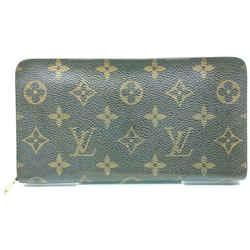 Louis Vuitton Monogram Porte Monnaie Zippy Wallet Zip Around 862903