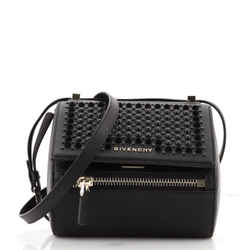 Pandora Box Bag Studded Leather Mini
