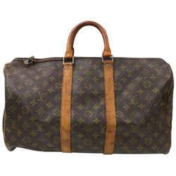 Louis Vuitton Monogram Keepall 45 Duffle Bag Carry On 863009