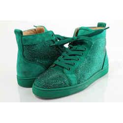 Christian Louboutin Louis Strass Flat Sneakers