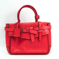 Reed Krakoff Boxer Women's Leather Handbag Pink Red BF510606