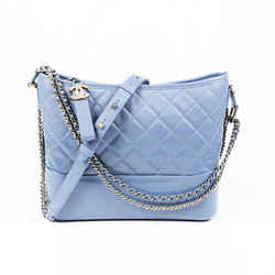 Chanel Bag Medium Gabrielle Blue Quilted Hobo