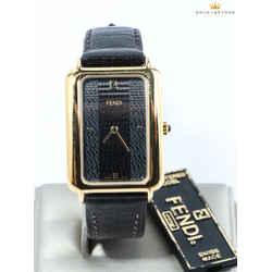 Fendi Classico Gold Tone Watch 550U