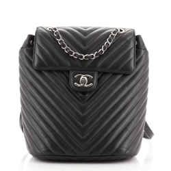 Urban Spirit Backpack Chevron Calfskin Small