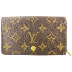 Louis Vuitton Monogram Snap Compact Zippy Wallet 14l520