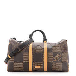 Nigo Keepall Bandouliere Bag Limited Edition Monogram Canvas 50