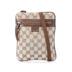 Pre-Owned Gucci Guccissima Small Crossbody Bag