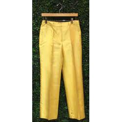 Gianni Versace Size 8 Yellow Pants