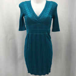 Missoni Blue Long Sleeve Dress 6