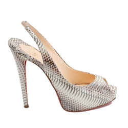 Snake Skin Heels, Size 39