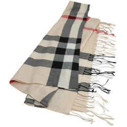 Burberry Classic Check Cashmere Scarf Archive Beige