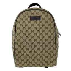 Gg Guccissima Canvas Backpack