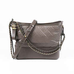 Chanel Bag Gabrielle Medium Gray Quilted Hobo