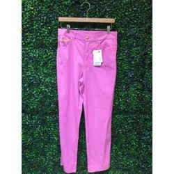 Escada Size 40/8 Dark Pink Pants
