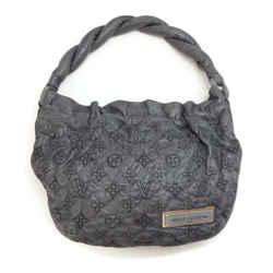 Louis Vuitton Limited Edition 2007 Grey Monogram Leather Shoulder Bag