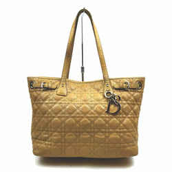 Christian Dior Beige Quilted Cannage Lady Tote   861436