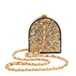 Chanel Gold Sequin Vintage Evening Bag