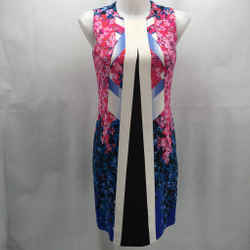 Peter Pilotto Pink Sleeveless Dress Small