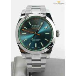 Rolex 40mm Milgauss Z-Blue Dial Watch 116400