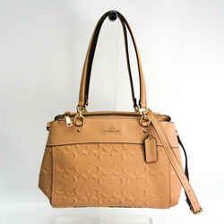 Coach Signature Brook Carryall F25952 Women's Leather Handbag,shoulder  Bf512498