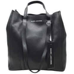 Marc Jacobs Tag Black Leather Tote