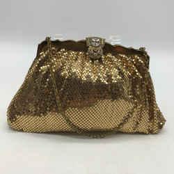 Whiting & Davis Gold Chainmail Bag