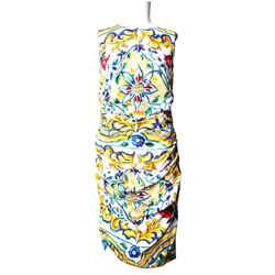 Dolce & Gabbana Flower Dress Size: OS  Length: Above Knee