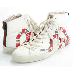 Gucci Leather High 'Kingsnake' Sneakers