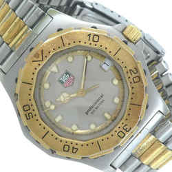 TAG HEUER Two-Tone Professional 200 934.206 Silver Gold SS Quartz Watch 872404
